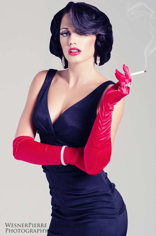 Female model photo shoot of Yanick Victor by Wesner Pierre