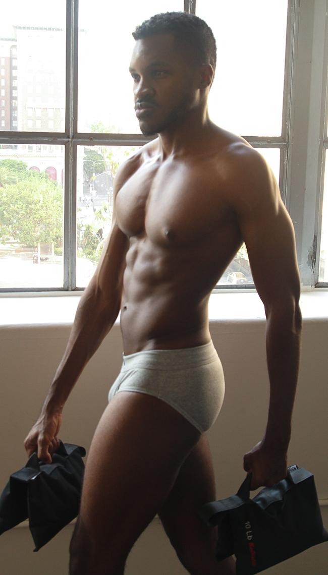Male model photo shoot of KJ Anderson