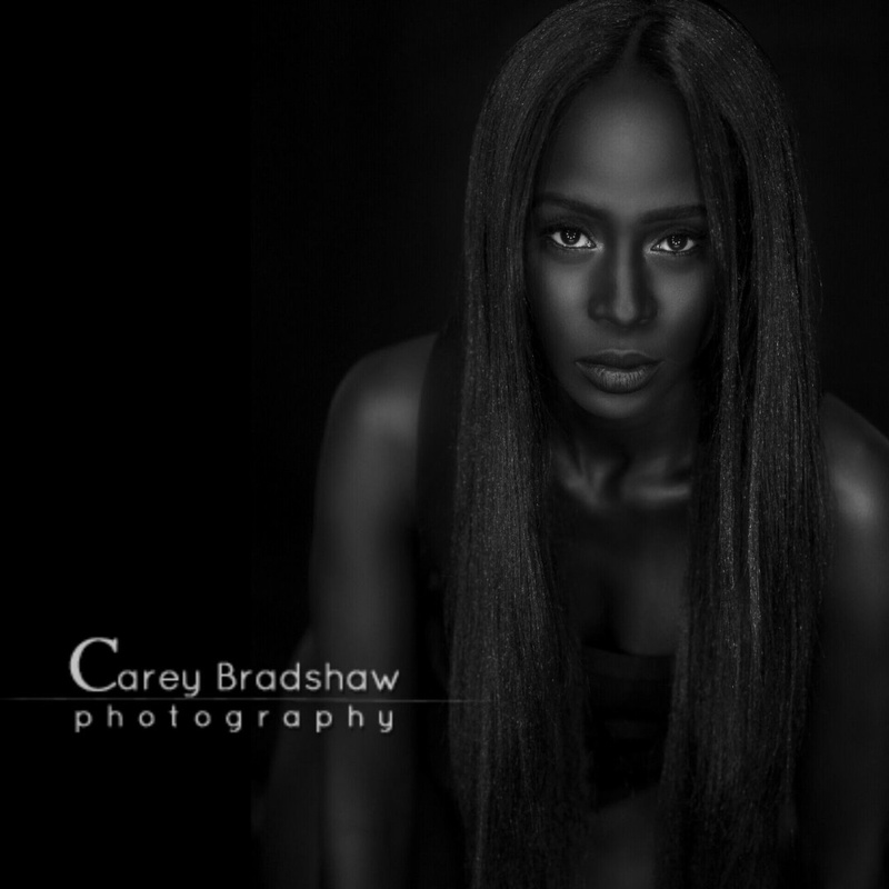 Female model photo shoot of Supermodel Adwoa by Carey Bradshaw in Bradshaw Studios