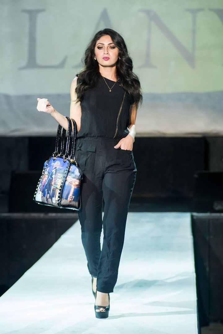 Female model photo shoot of Fanny Jimenez in DTLA