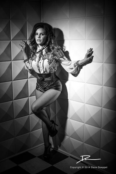 Female model photo shoot of Dianna Wayne by Dave Doeppel in Wonderland Studios