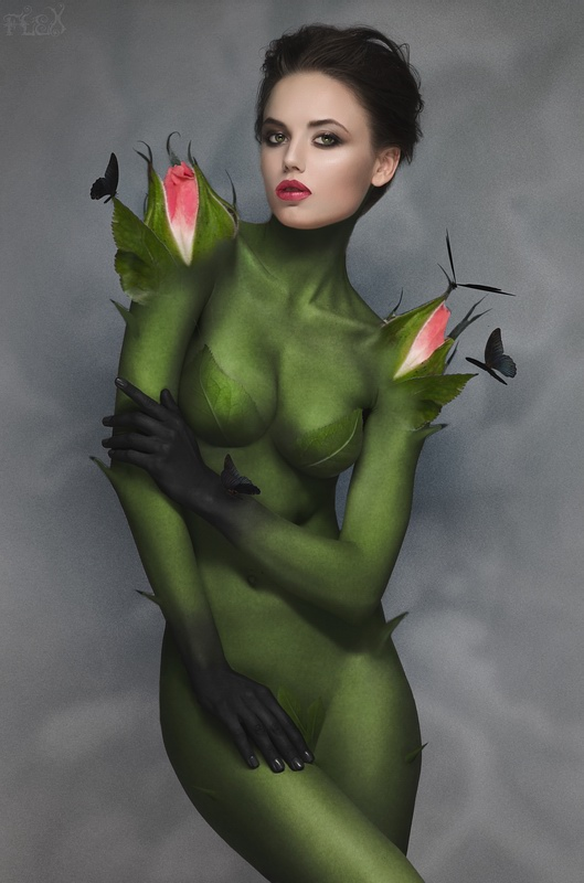 Female model photo shoot of Big Bad Red by Stanislav Istratov