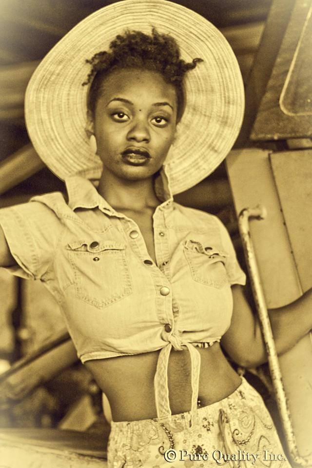 Female model photo shoot of Domino J