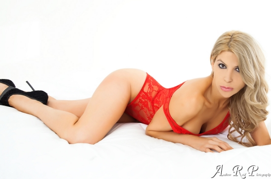 Female model photo shoot of Nadia  Salvino by ANDREW REID PHOTOGRAPHY