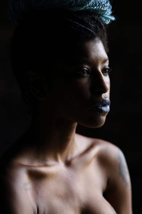 Male and Female model photo shoot of klayfotos and Kookie Knox in Atlanta Georgia