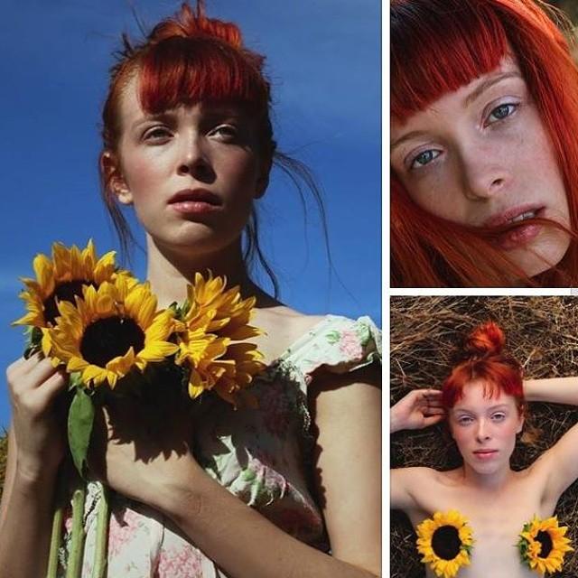 Female model photo shoot of _sarah christine_ in New Orleans, LA