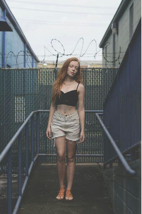 Female model photo shoot of _sarah christine_ by _AVAV_XOXO in new orleans