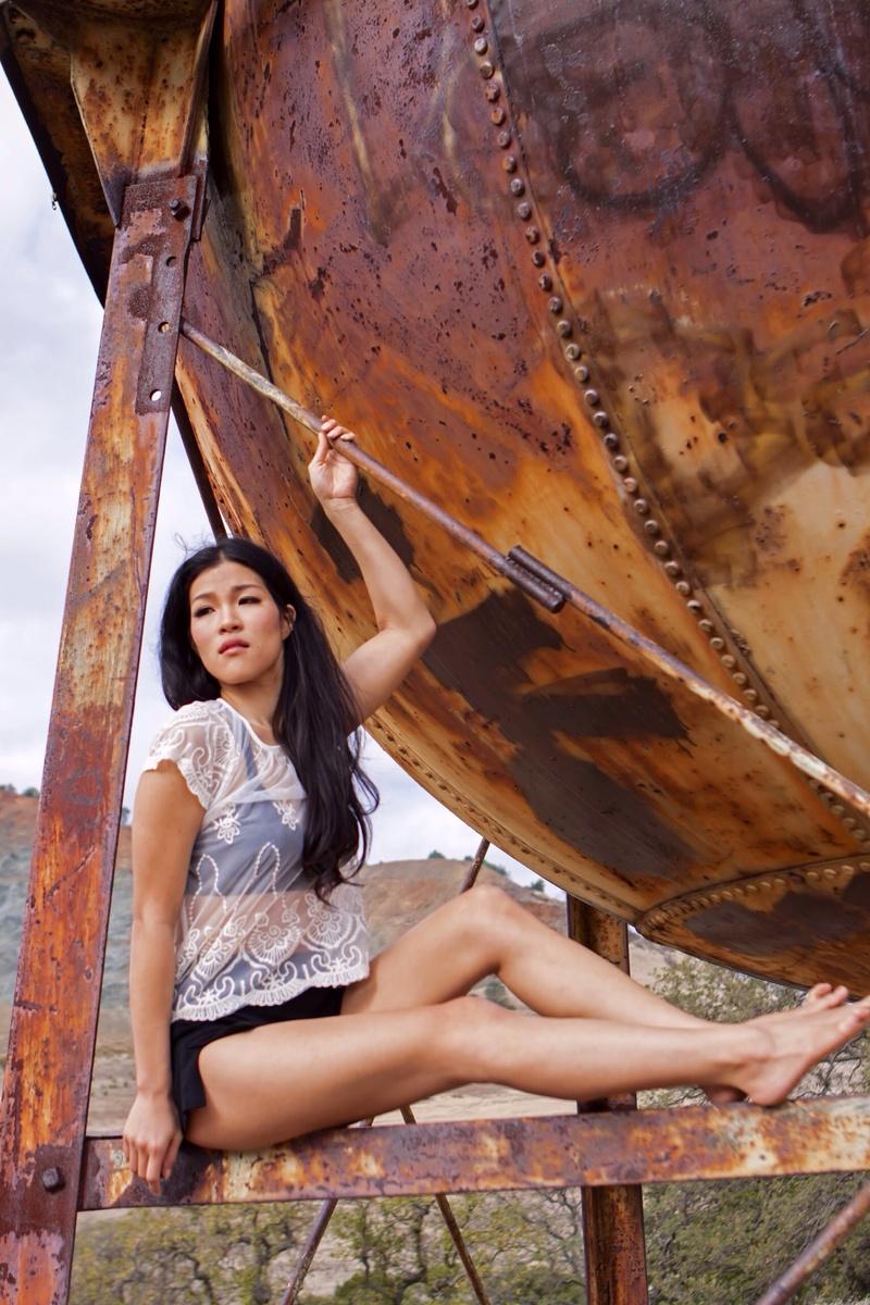 Female model photo shoot of Jayliejay in Mt Diablo