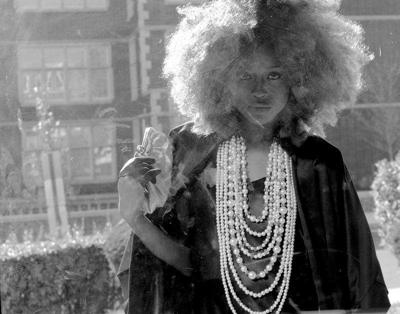 Female model photo shoot of Leslie Arnelle and Amoni Chanel