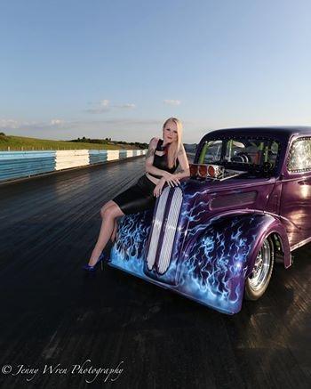 Female model photo shoot of ClaudiaC_ in Shakespeare County Raceway