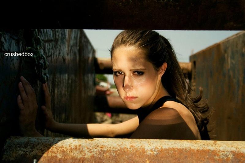 Female model photo shoot of Christina Marie Leonard by Crushedbox