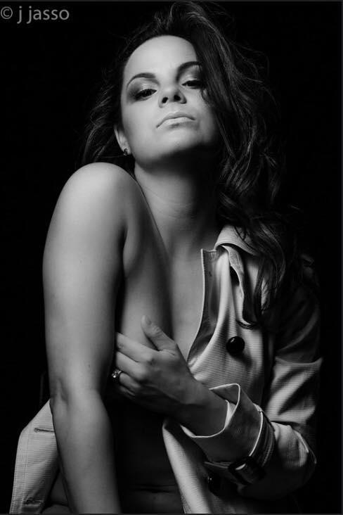 Female model photo shoot of Charlotte Racicot