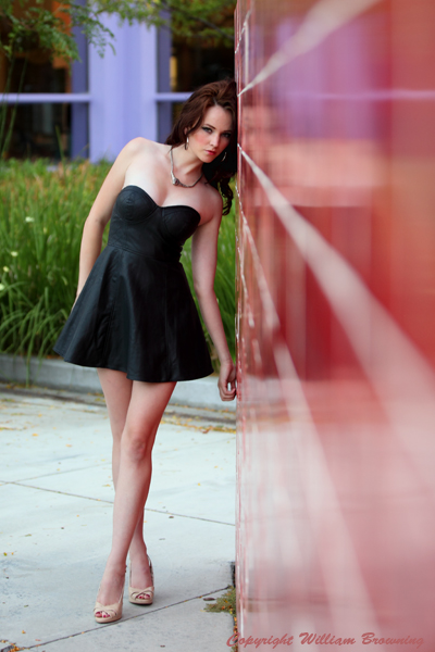 Male and Female model photo shoot of William Browning and Marlee-Ivy by William Browning in San Jose, makeup by Nancy Browning