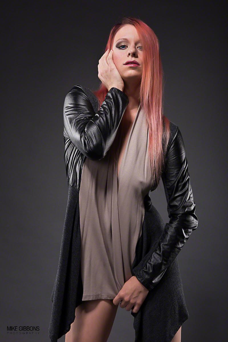 Female model photo shoot of Model JD by Photeus Photography