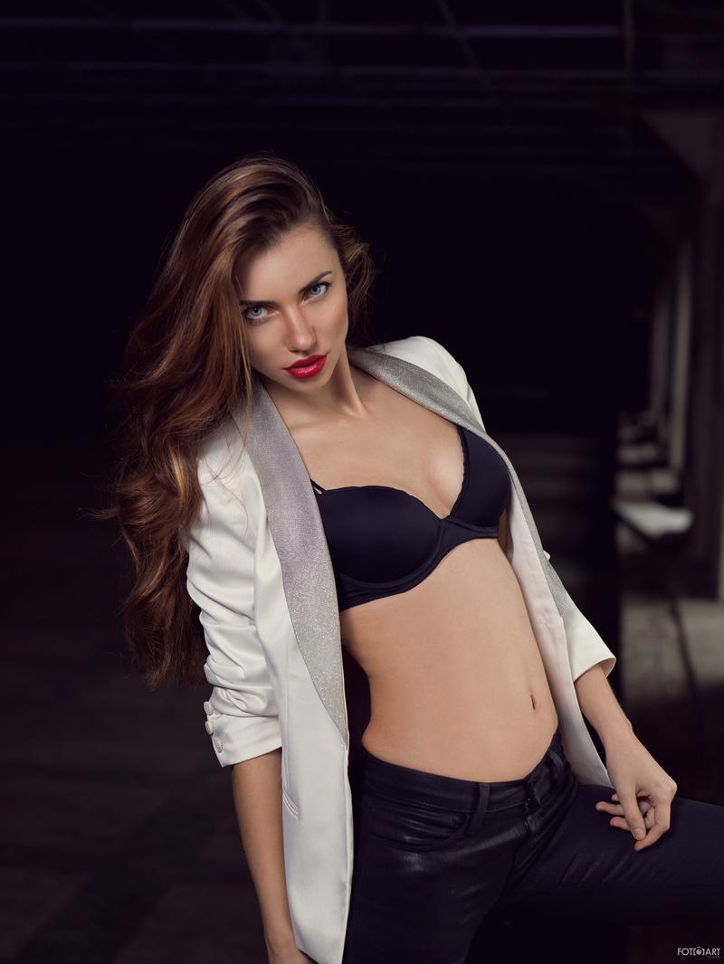 Male and Female model photo shoot of Farhan -FotoArt Studios and Lara croft