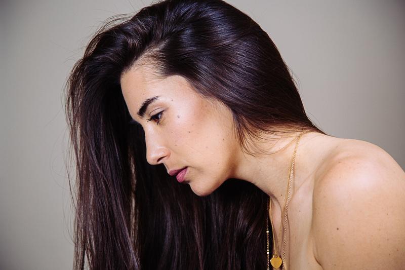 Female model photo shoot of KeiLani Y by Kabir C