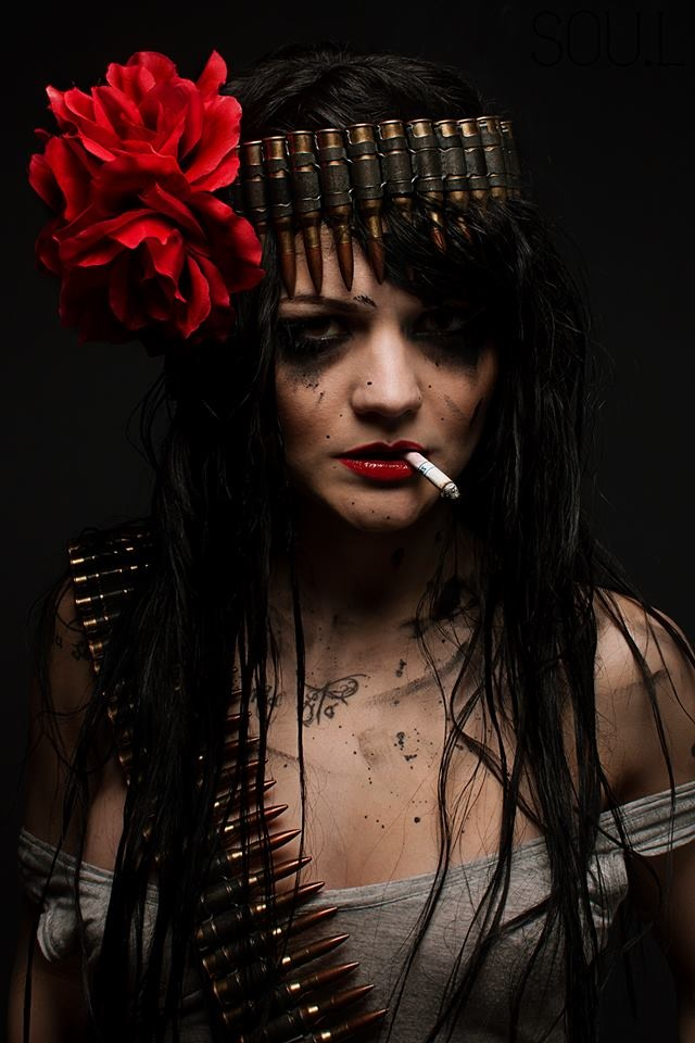 Female model photo shoot of Makeup By Lita