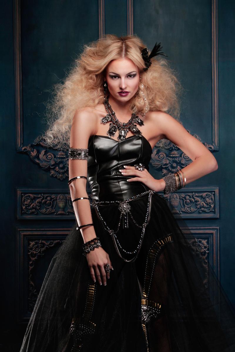 Female model photo shoot of Vanessa VonRouge in Focus On Studio
