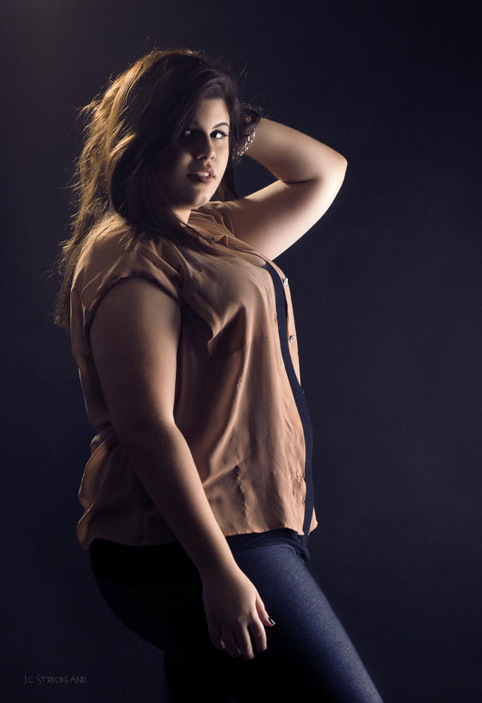 Female model photo shoot of Samantha G Huffstickler by JC Strick