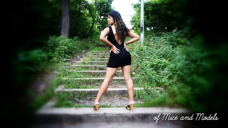 Female model photo shoot of Nini D