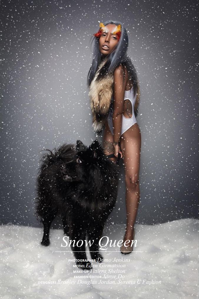 Jan 22, 2015 Photo: Dominik Jenkins; Postproduction: Marina Barbash for Elegant Magazine