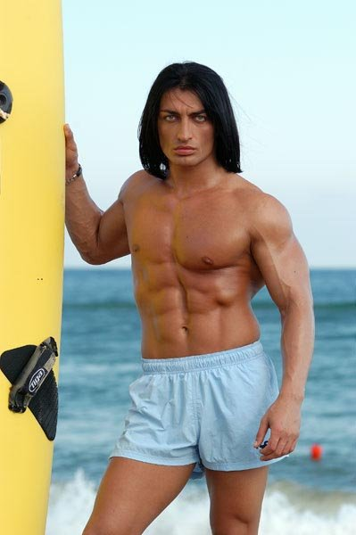Male model photo shoot of Jason Maximus in Black Sea