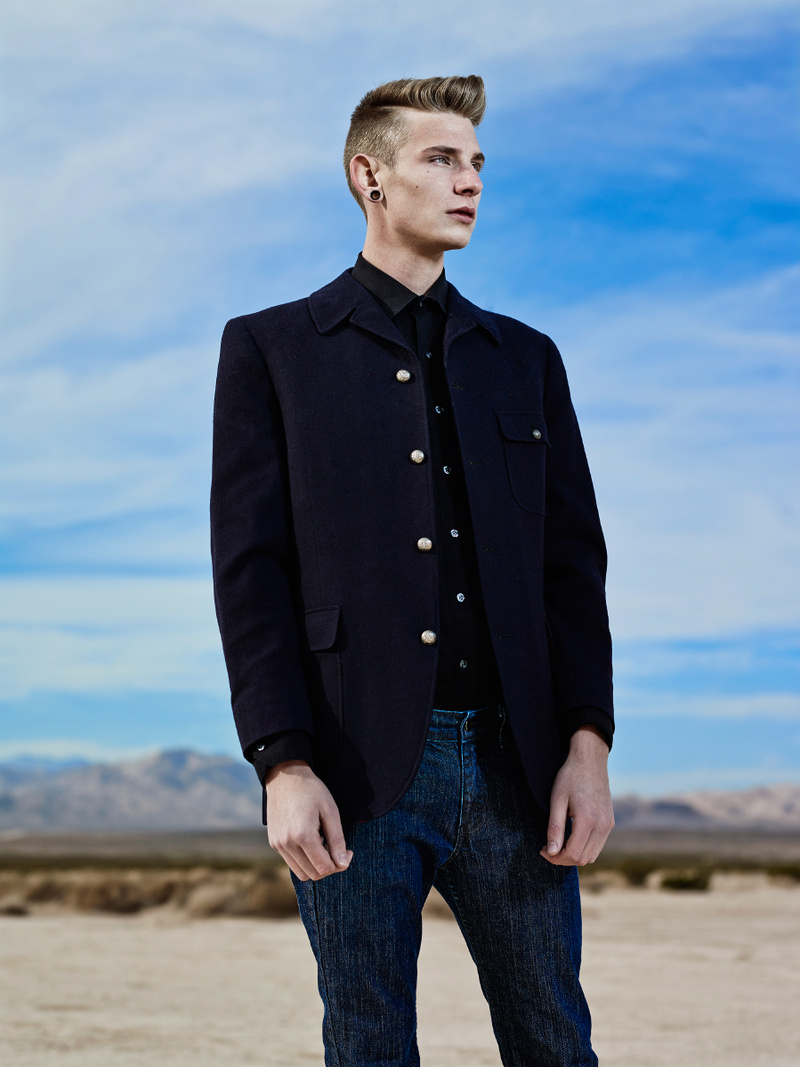 Male model photo shoot of Cameron Frost