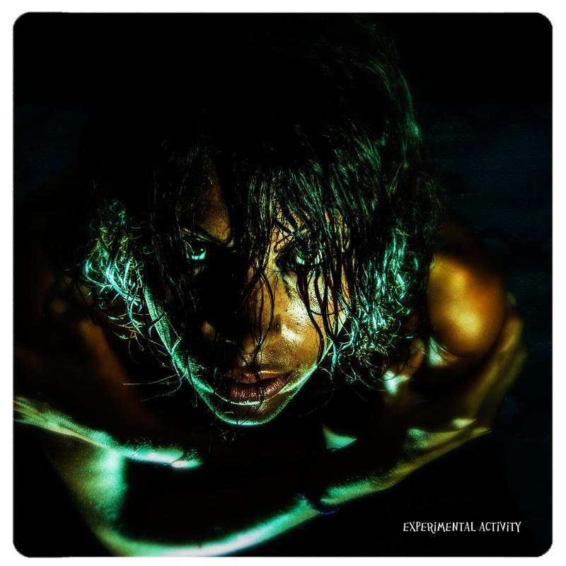 Male model photo shoot of EXPERIMENTAL ACTIVITY