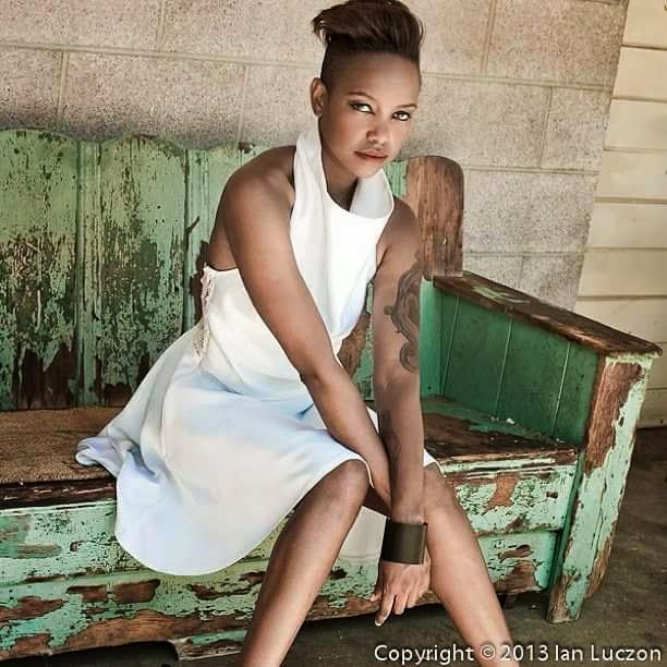 Female model photo shoot of Elsie RA in Graber Olive House, Ontario, CA
