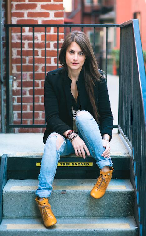 Female model photo shoot of Melijams in San Francisco