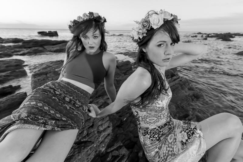 Female model photo shoot of Mieka Black in Marino Rocks, South Australia