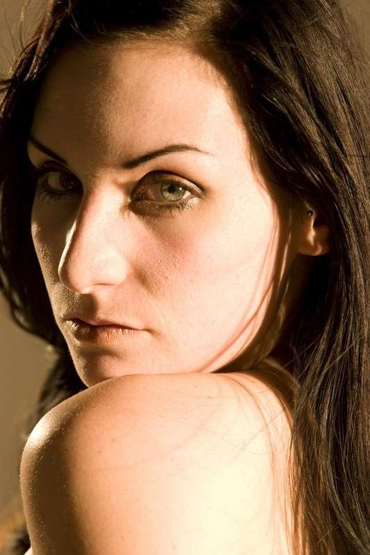 Female model photo shoot of Sky