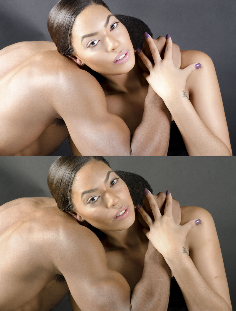 Male model photo shoot of Retouching by BM