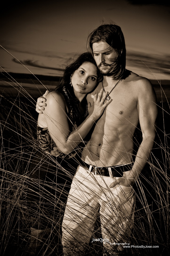 Male and Female model photo shoot of ChrisTPA and Eileen Frances by JoseCheito Photography
