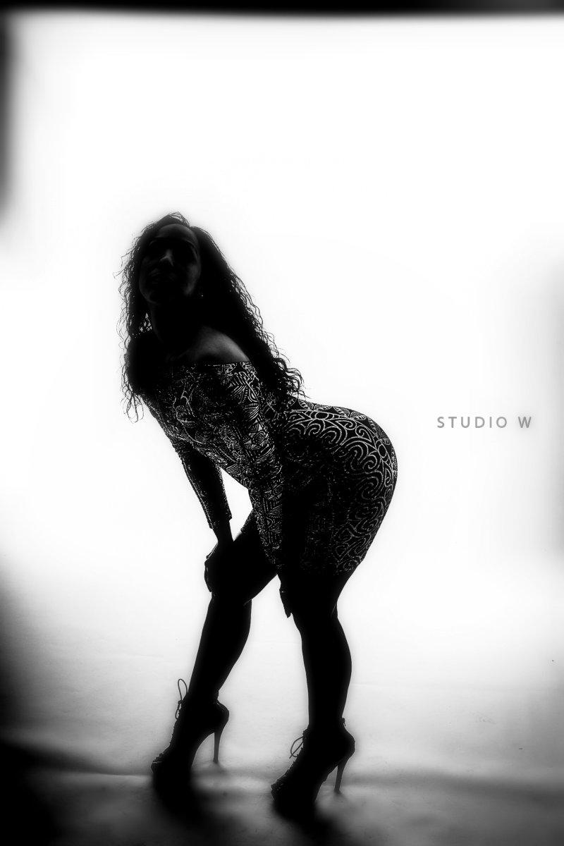 Female model photo shoot of Ms Q LaRue by Studio W
