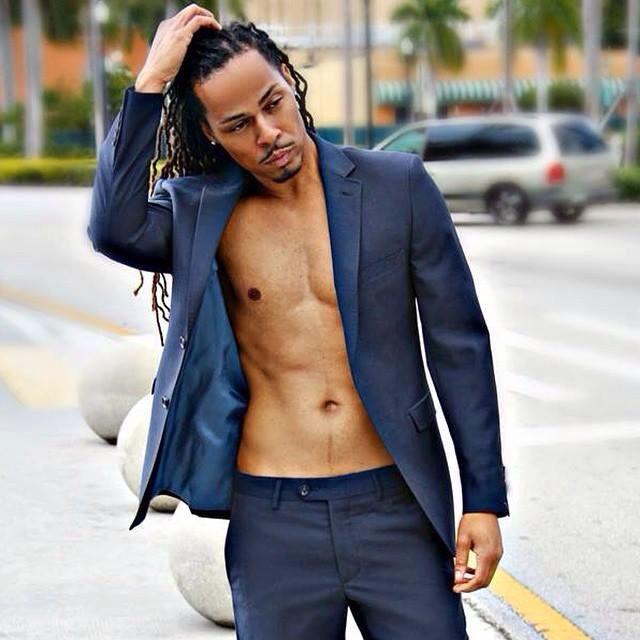 Male model photo shoot of Chuck C Harris in Hollywood Beach, FL