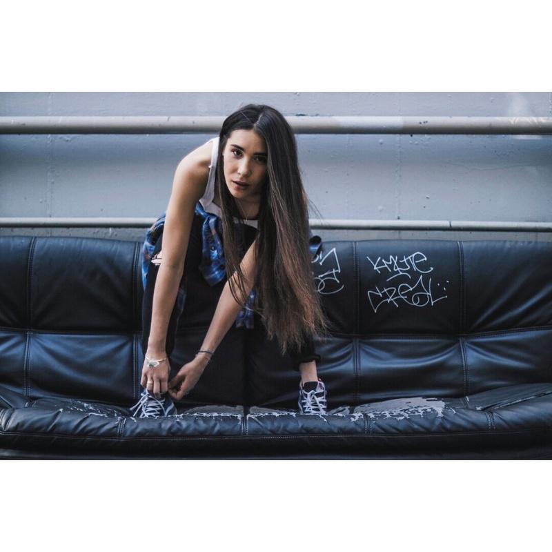 Female model photo shoot of KeiLani Y in LA