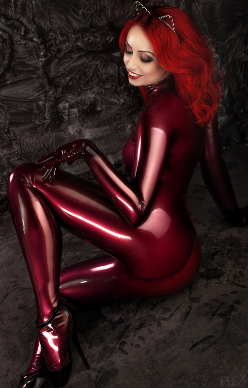 Moscow Mar 20, 2015 Red Latex Cat