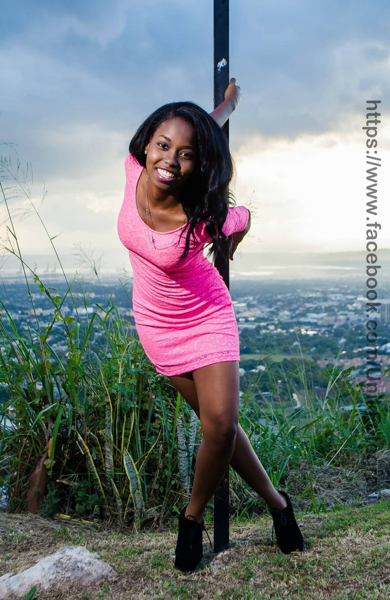 Female model photo shoot of Tiny_Tee in Beverly Hills , Jamaica