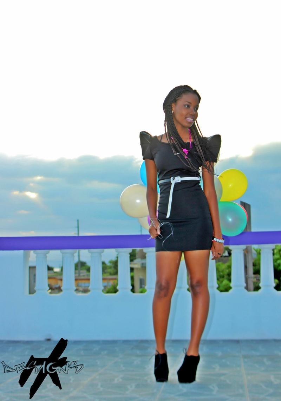 Female model photo shoot of Tiny_Tee in Jamaica