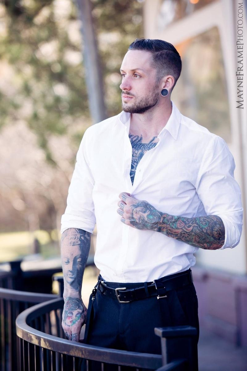 Male model photo shoot of KyCalvinRose