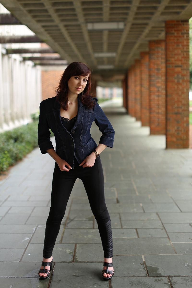 Female model photo shoot of Megan Hawthorne by Darius Ollison