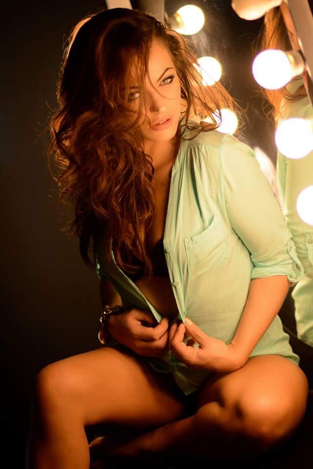 Female model photo shoot of Lareina Slight in Dublin (Pennsylvania )