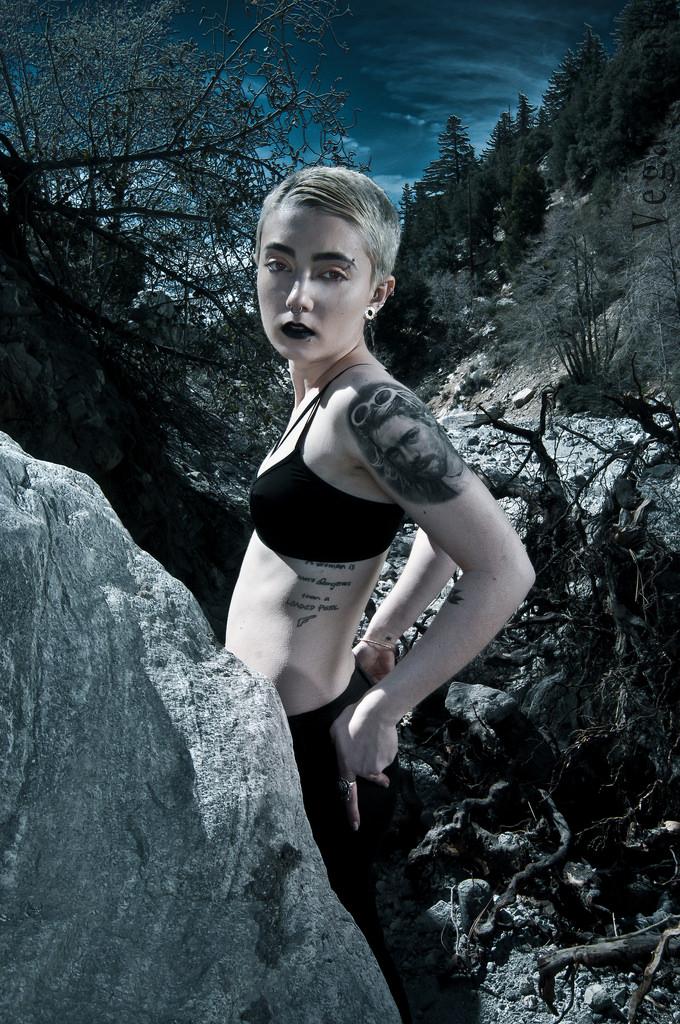 Female model photo shoot of Vega Keat Retouching  and rose_bud by Vega Keat Photography, makeup by Cruelty Free MUA