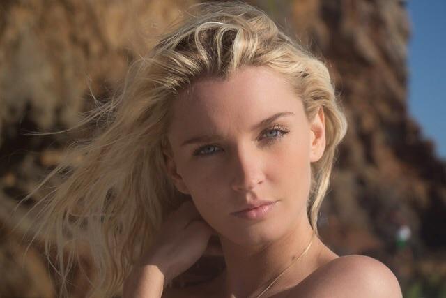 Female model photo shoot of Aza Larsen Photography in Point Dume, Malibu