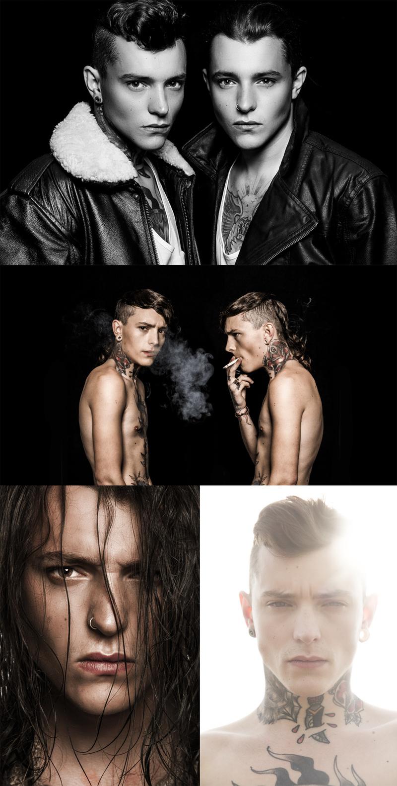 Male model photo shoot of edfool