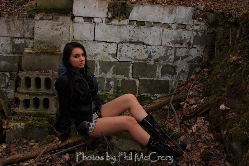 Female model photo shoot of Laced_Luna