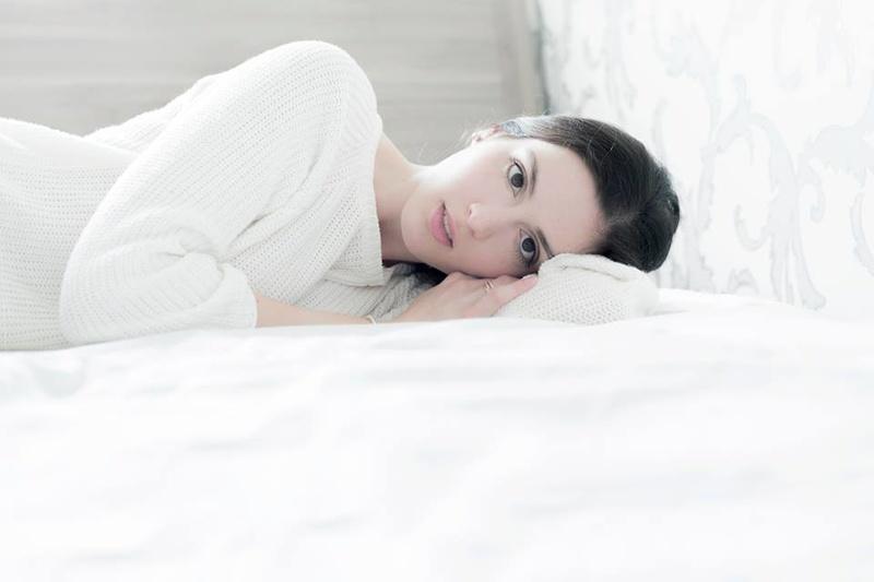 Female model photo shoot of Sandra_M in Budapest