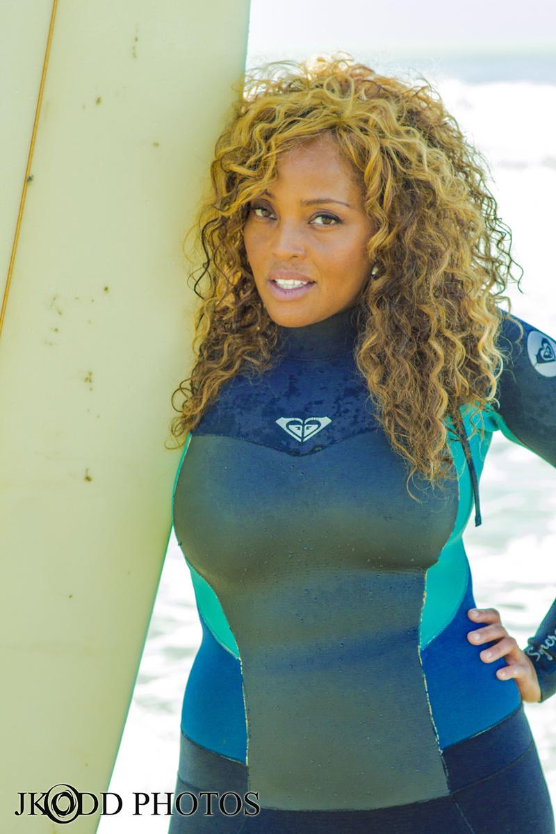 Female model photo shoot of Mimi Miller Style in Manhattan Beach, CA