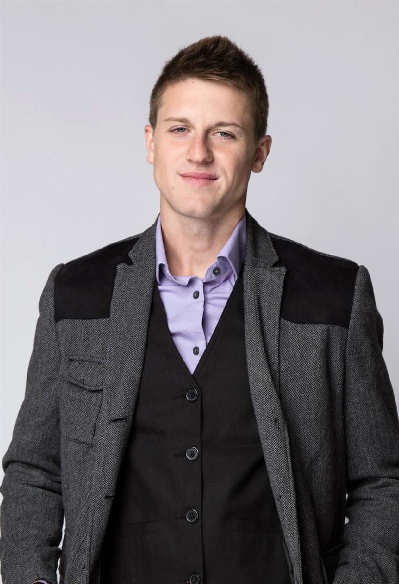 Male model photo shoot of Derek Black